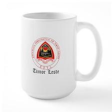 Timorese Coat of Arms Seal Mug