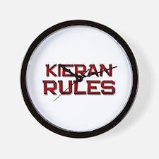kieran rules Wall Clock