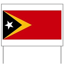 Timor Leste Flag Yard Sign
