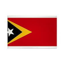 Timor Leste Flag Rectangle Magnet