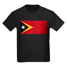 Timor Leste Flag T
