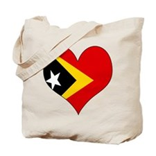 I Love Timor Leste Tote Bag