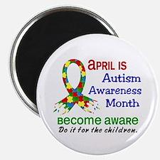 Autism Awareness Month Magnet