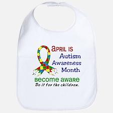Autism Awareness Month Bib