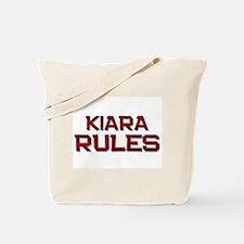 kiara rules Tote Bag