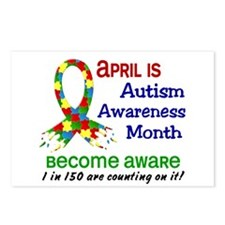 Autism Awareness Month Postcards (Package of 8)