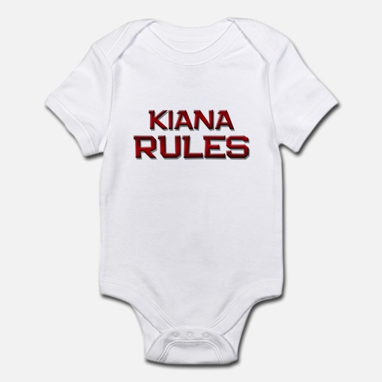 kiana rules Infant Bodysuit