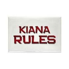 kiana rules Rectangle Magnet