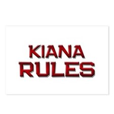 kiana rules Postcards (Package of 8)