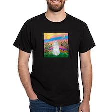 Day Star / (White) Cat T-Shirt