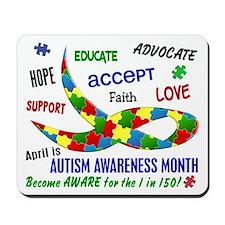 Autism Awareness Month Mousepad