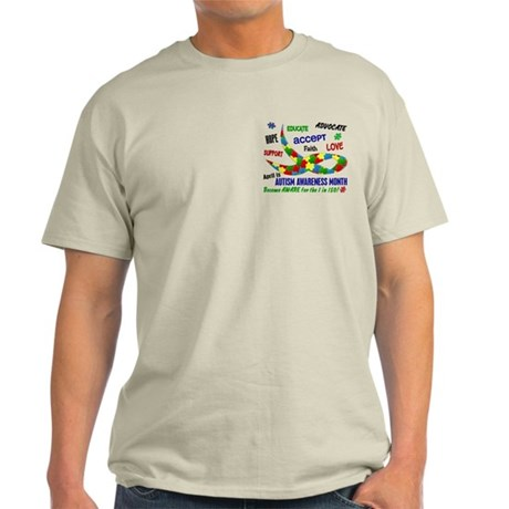 Autism Awareness Month Light T-Shirt