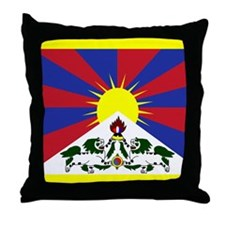 Tibetese Throw Pillow