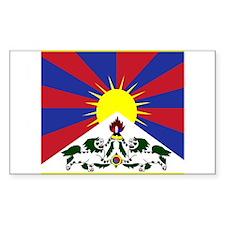 Tibetese Rectangle Decal