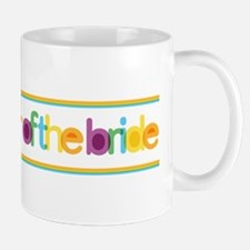 Funky Type Bride's Father Mug