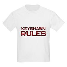 keyshawn rules T-Shirt