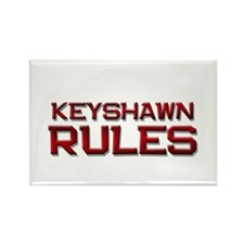 keyshawn rules Rectangle Magnet