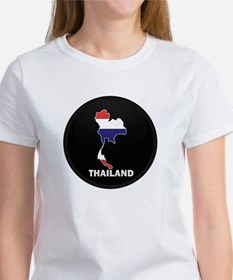 Flag Map of Thailand Tee