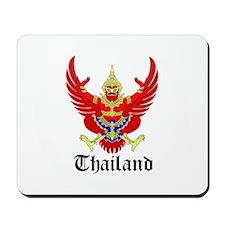 Thai Coat of Arms Seal Mousepad