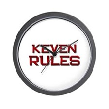 keven rules Wall Clock