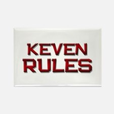 keven rules Rectangle Magnet