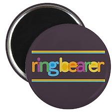 Funky Type Ring Bearer Magnet