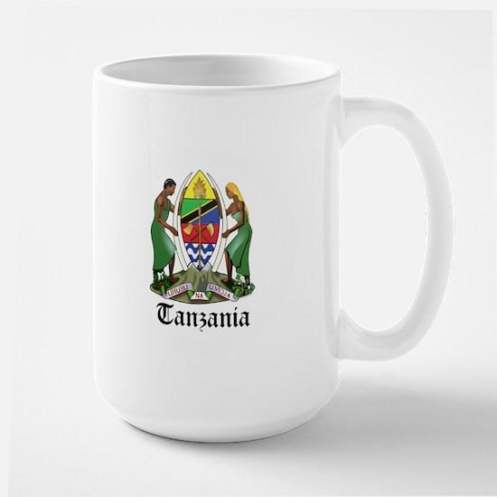 Tanzanian Coat of Arms Seal Large Mug