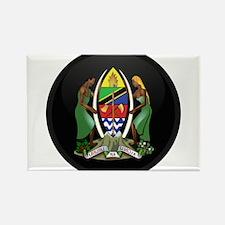 Coat of Arms of Tanzania Rectangle Magnet