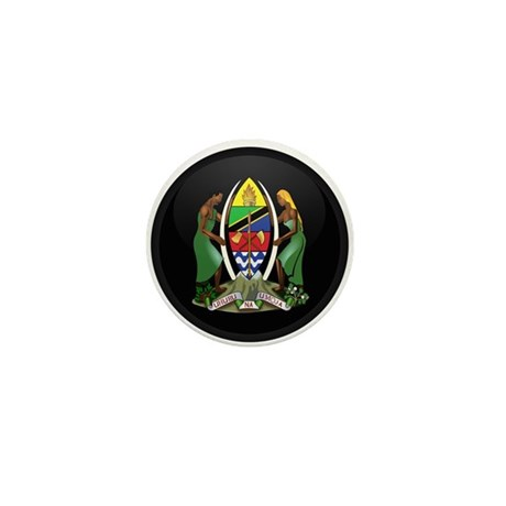 Coat of Arms of Tanzania Mini Button