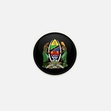 Coat of Arms of Tanzania Mini Button