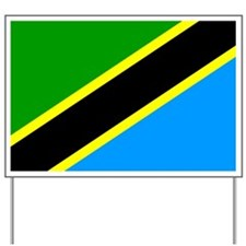 Tanzania Flag Yard Sign