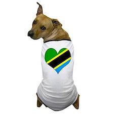 I Love Tanzania Dog T-Shirt