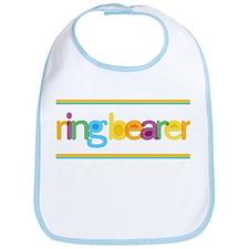 Funky Type Ring Bearer Bib