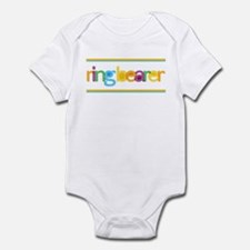 Funky Type Ring Bearer Infant Bodysuit