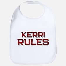 kerri rules Bib