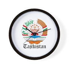 Tajikistani Coat of Arms Seal Wall Clock
