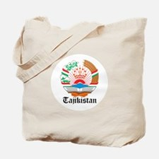 Tajikistani Coat of Arms Seal Tote Bag