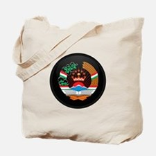Coat of Arms of Tajikistan Tote Bag