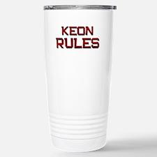 keon rules Travel Mug