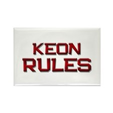 keon rules Rectangle Magnet