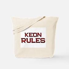 keon rules Tote Bag