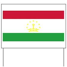 Tajikistan Flag Yard Sign