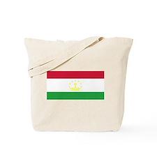 Tajikistan Flag Tote Bag