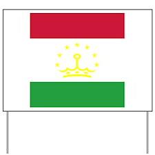 Tajikistani Yard Sign
