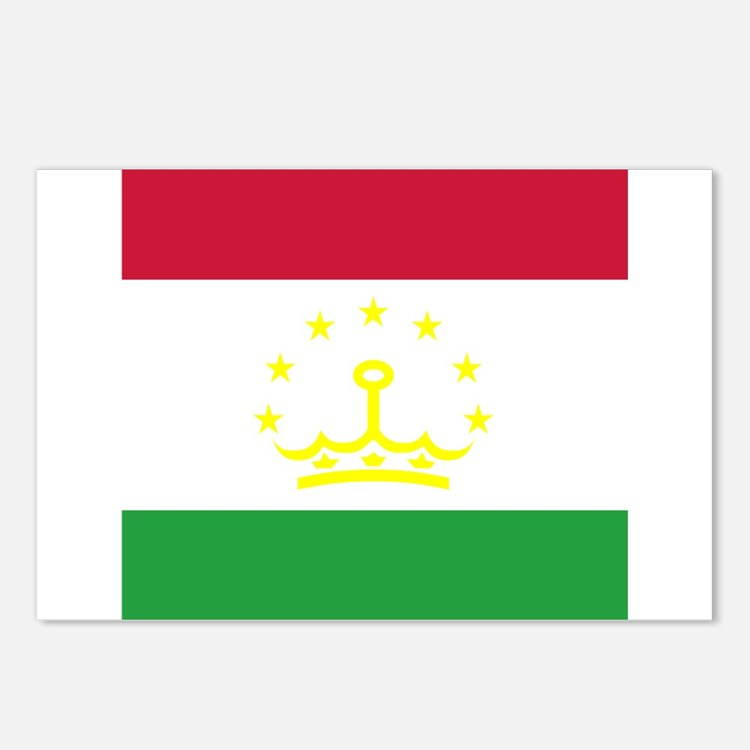 Tajikistani Postcards (Package of 8)