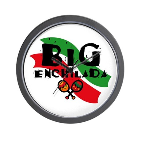 Big Enchilada Wall Clock