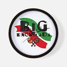 Big Enchilada Wall Clock
