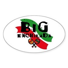 Big Enchilada Oval Decal