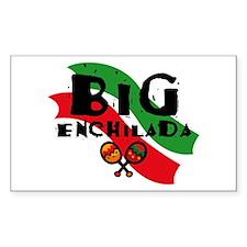 Big Enchilada Rectangle Decal