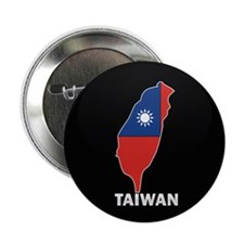 """Flag Map of taiwan 2.25"""" Button"""